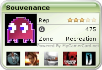 Souvenance Gamercard as of 2008-01-24